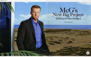 McG's Next Big Project: Betting on Wonderland Article by Scott Marshutz