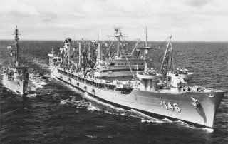 USS Kawishiwi - a decommissioned 655‐ foot Neosho-class fleet oiler
