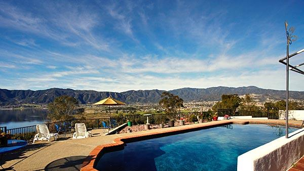 Exceptional views in Sister Aimee Castle in Lake Elsinore