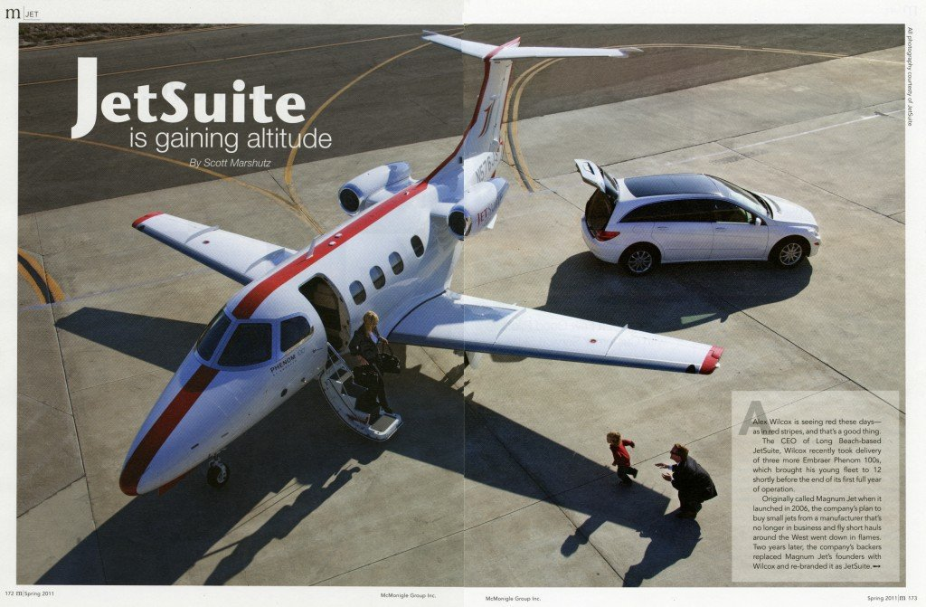 JetSuite is gaining altitude article by Scott Marshutz
